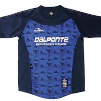 DALPONTE/ダウポンチ/ポリゴンプラクティスシャツ(ネイビー)【DPZ0264-NVY】