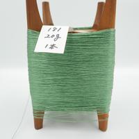 国産絹糸 江州だるま糸 西陣織で使われている手機用緯糸 木枠付き no.181