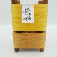 国産絹糸 江州だるま糸 西陣織で使われている手機用緯糸 木枠付き no.58