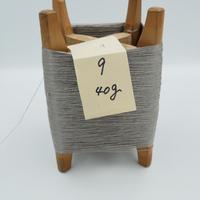 国産絹糸 江州だるま糸 西陣織で使われている手機用緯糸 木枠付き no.9