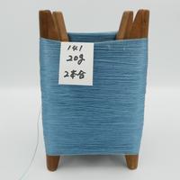 国産絹糸 江州だるま糸 西陣織で使われている手機用緯糸 木枠付き no.141