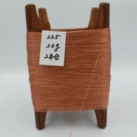 国産絹糸 江州だるま糸 西陣織で使われている手機用緯糸 木枠付き no.225