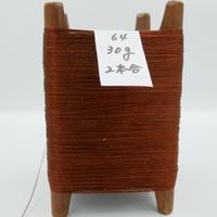 国産絹糸 江州だるま糸 西陣織で使われている手機用緯糸 木枠付き no.64