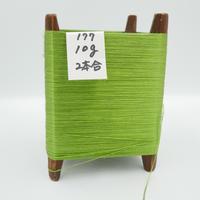 国産絹糸 江州だるま糸 西陣織で使われている手機用緯糸 木枠付き no.177