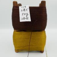 国産絹糸 江州だるま糸 西陣織で使われている手機用緯糸 木枠付き no.119