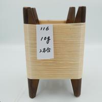 国産絹糸 江州だるま糸 西陣織で使われている手機用緯糸 木枠付き no.116