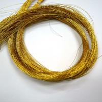 西陣織で使われている 23本金糸の残糸