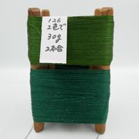 国産絹糸 江州だるま糸 西陣織で使われている手機用緯糸 木枠付き no.126