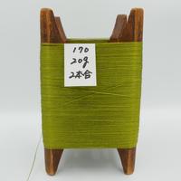 国産絹糸 江州だるま糸 西陣織で使われている手機用緯糸 木枠付き no.170