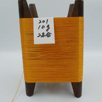 国産絹糸 江州だるま糸 西陣織で使われている手機用緯糸 木枠付き no.201