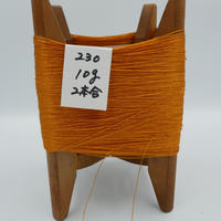 国産絹糸 江州だるま糸 西陣織で使われている手機用緯糸 木枠付き no.230