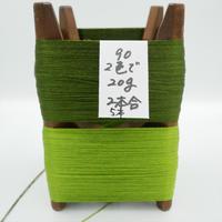 国産絹糸 江州だるま糸 西陣織で使われている手機用緯糸 木枠付き no.90