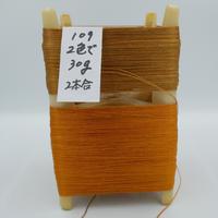 国産絹糸 江州だるま糸 西陣織で使われている手機用緯糸 プラスティック枠付き no.109