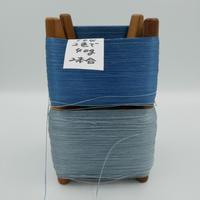国産絹糸 江州だるま糸 西陣織で使われている手機用緯糸 木枠付き no.104