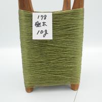 国産絹糸 江州だるま糸 西陣織で使われている手機用緯糸 木枠付き no.178