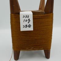 国産絹糸 江州だるま糸 西陣織で使われている手機用緯糸 木枠付き no.233