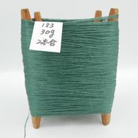 国産絹糸 江州だるま糸 西陣織で使われている手機用緯糸 木枠付き no.183