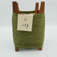 国産絹糸 江州だるま糸 西陣織で使われている手機用緯糸 木枠付き no.6