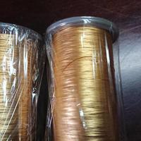 銀ベースの金属 さび箔 糸 1玉 200円 *送料は佐川急便着払いです。