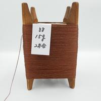 国産絹糸 江州だるま糸 西陣織で使われている手機用緯糸 木枠付き no.88