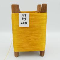 国産絹糸 江州だるま糸 西陣織で使われている手機用緯糸 木枠付き no.188
