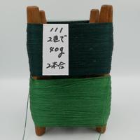 国産絹糸 江州だるま糸 西陣織で使われている手機用緯糸 木枠付き no.111