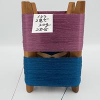 国産絹糸 江州だるま糸 西陣織で使われている手機用緯糸 木枠付き no.137