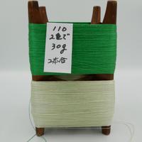 国産絹糸 江州だるま糸 西陣織で使われている手機用緯糸 木枠付き no.110