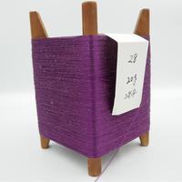 国産絹糸 江州だるま糸 西陣織で使われている手機用緯糸 木枠付き no.28