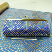 西陣織 菱つなぎ紋様のペン&メガネケース 作製キット