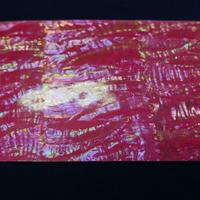 日本アワビピンク螺鈿箔Lサイズ シール加工で便利。はさみで切れます。