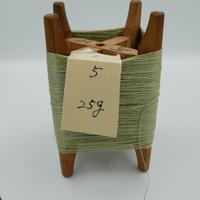 国産絹糸 江州だるま糸 西陣織で使われている手機用緯糸 木枠付き no.5