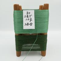 国産絹糸 江州だるま糸 西陣織で使われている手機用緯糸 木枠付き no.80