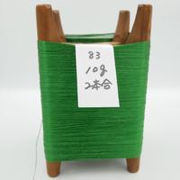 国産絹糸 江州だるま糸 西陣織で使われている手機用緯糸 木枠付き no.83