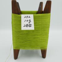 国産絹糸 江州だるま糸 西陣織で使われている手機用緯糸 木枠付き no.252