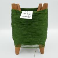 国産絹糸 江州だるま糸 西陣織で使われている手機用緯糸 木枠付き no.174