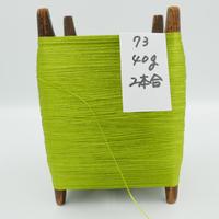国産絹糸 江州だるま糸 西陣織で使われている手機用緯糸 木枠付き no.73