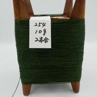 国産絹糸 江州だるま糸 西陣織で使われている手機用緯糸 木枠付き no.254