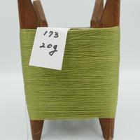 国産絹糸 江州だるま糸 西陣織で使われている手機用緯糸 木枠付き no.173