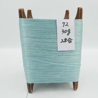 国産絹糸 江州だるま糸 西陣織で使われている手機用緯糸 木枠付き no.72