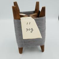 国産絹糸 江州だるま糸 西陣織で使われている手機用緯糸 木枠付き no.11