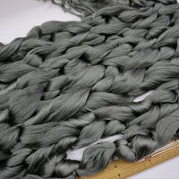西陣織で使われている 経糸の残糸 明るめの深緑 着払い発送