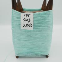 国産絹糸 江州だるま糸 西陣織で使われている手機用緯糸 木枠付き no.145