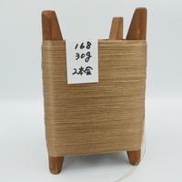 国産絹糸 江州だるま糸 西陣織で使われている手機用緯糸 木枠付き no.168