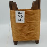 国産絹糸 江州だるま糸 西陣織で使われている手機用緯糸 木枠付き no.228