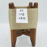 国産絹糸 江州だるま糸 西陣織で使われている手機用緯糸 木枠付き no.95