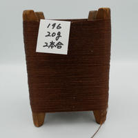 国産絹糸 江州だるま糸 西陣織で使われている手機用緯糸 木枠付き no.196
