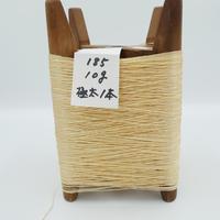国産絹糸 江州だるま糸 西陣織で使われている手機用緯糸 木枠付き no.185