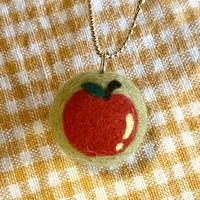 羊毛ストラップ 「りんご」