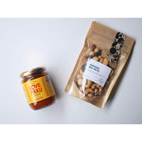 LOVE PAKU & Smoked Mix Nuts  collaboration set